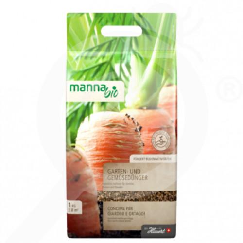 bg hauert fertilizer manna bio gemusedunger 1 kg - 0, small