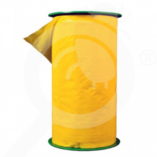 bg agrisense trap fly greenhouse sut yellow glue roll 25 m 4 p - 0, small