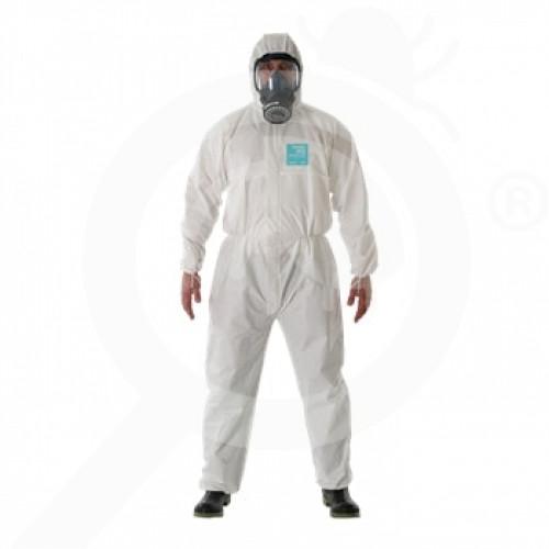 bg ansell microgard protective coverall alphatec 2000 xl - 0, small