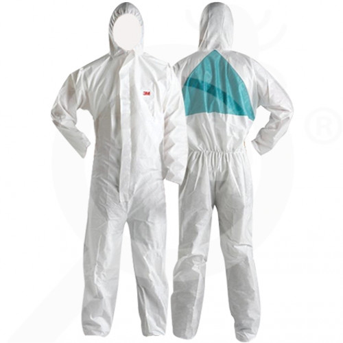bg 3m safety equipment protective chemise 4520 l - 3, small