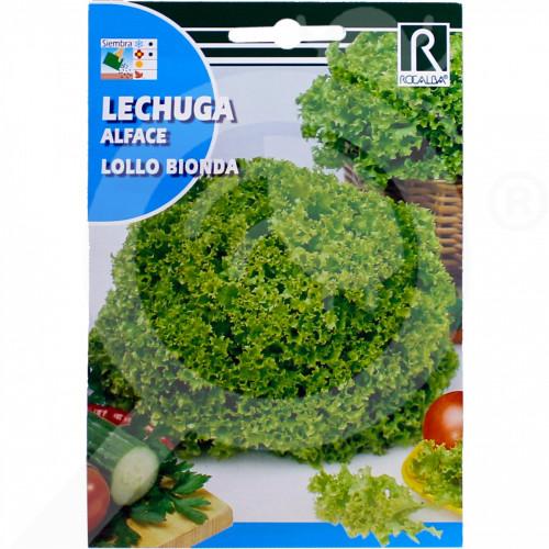 bg rocalba seed green lettuce lollo bionda 100 g - 0, small