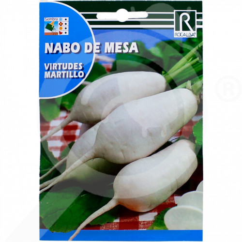 bg rocalba seed white radish virtudes martillo 10 g - 0, small