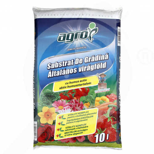bg agro cs substrate garden substrate 10 l - 0, small
