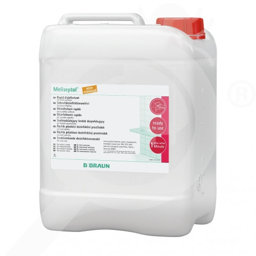 bg b braun disinfectant meliseptol foam pure 5 l - 2, small
