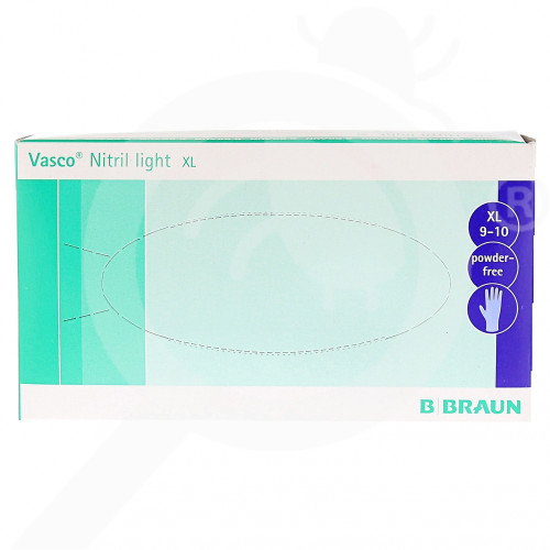 bg b braun safety equipment vasco nitril light xl 90 p - 2, small