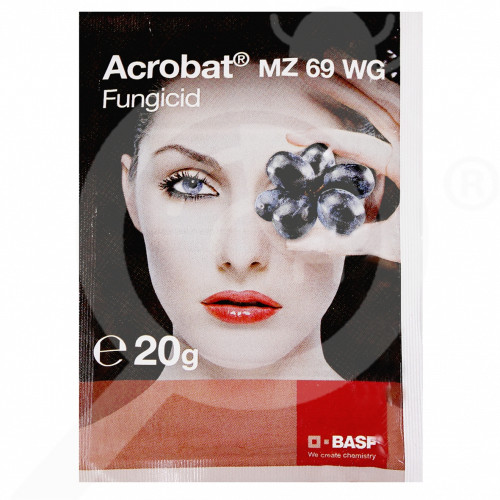 bg basf fungicid acrobat mz 69 wg 20 g - 1, small