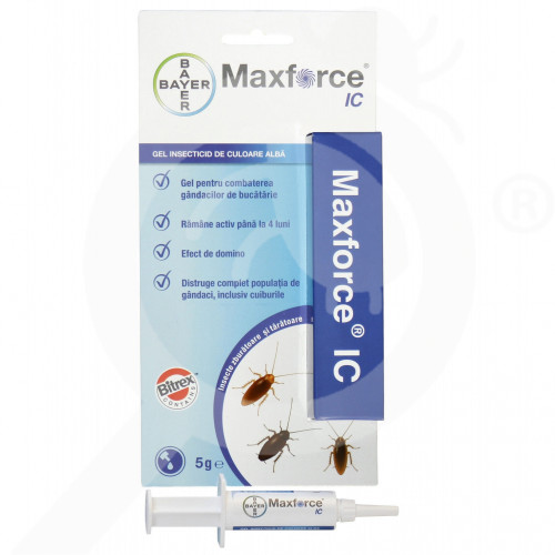 bg bayer insecticide maxforce ic white 5 g - 3, small
