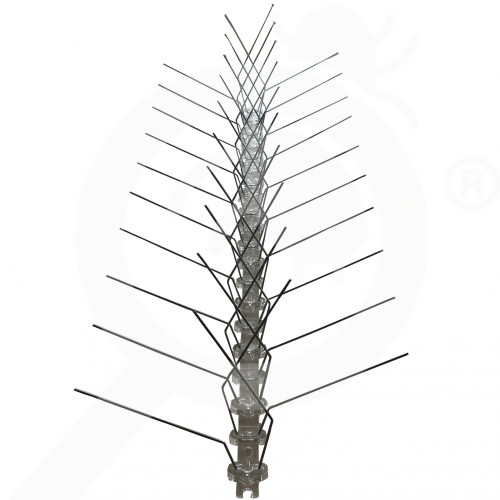 bg ue repellent bird spikes 80 polix 4 rows - 1, small