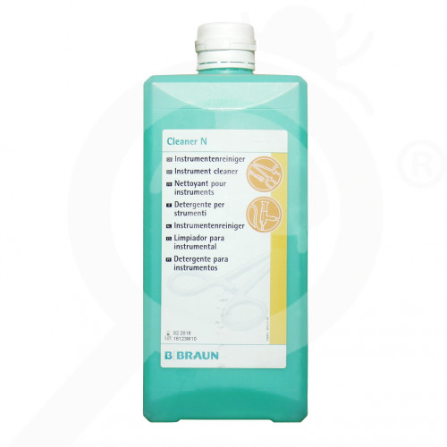 bg b braun disinfectant cleaner n 1 litre - 1, small