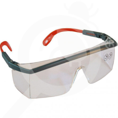 bg deltaplus safety equipment glasses kilimandjaro clear ab - 1