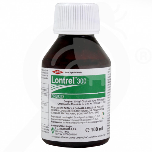 dow agro sciences erbicid lontrel 300 ec 100 ml - 1