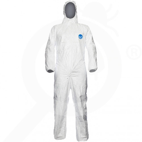 bg dupont safety equipment tyvek chf5 xl - 10, small