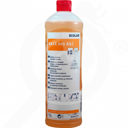 bg ecolab detergent maxx2 into alk 1 l - 1, small