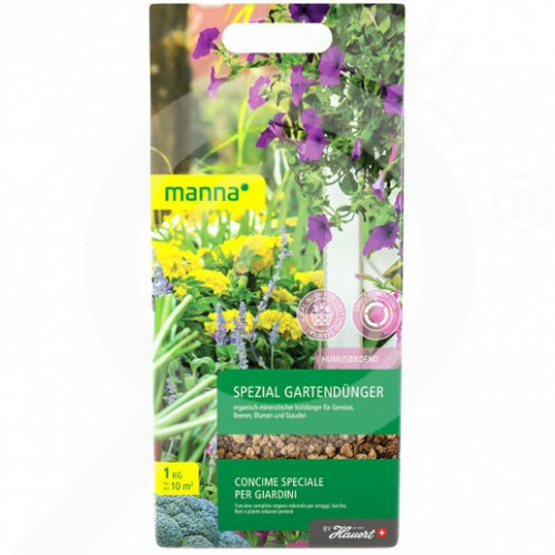 bg hauert fertilizer manna bio spezial 1 kg - 0, small