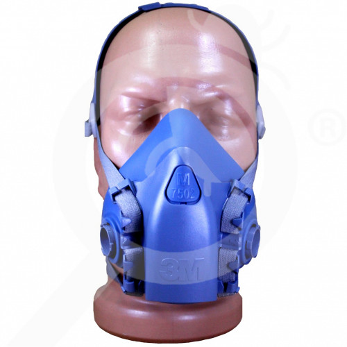bg 3m safety equipment 7500 semi mask - 1, small