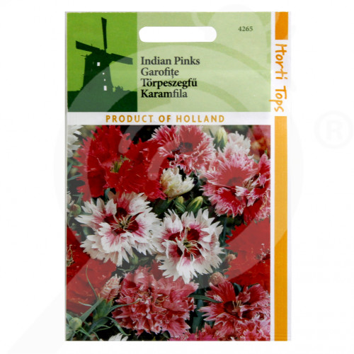 bg pieterpikzonen seed dianthus chinensis double mix 0 5 g - 1, small