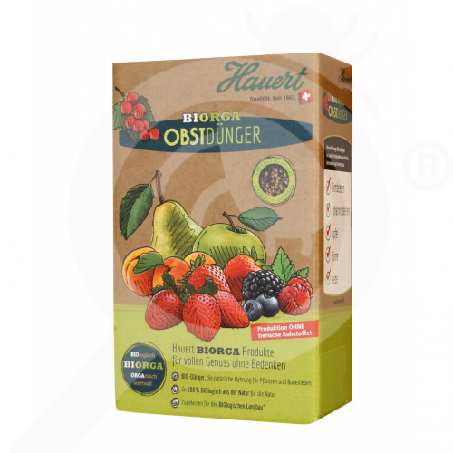 bg hauert fertilizer organic fruit 800 g - 0, small