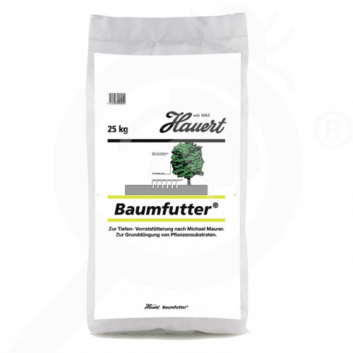 bg hauert fertilizer tree shrub baumfutter 25 kg - 0, small