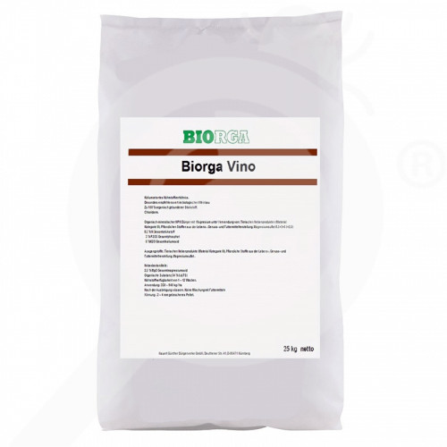 bg hauert fertilizer biorga vino 25 kg - 0, small