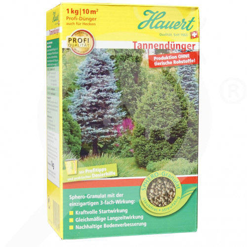 bg hauert fertilizer ornamental conifer shrub 1 kg - 0, small