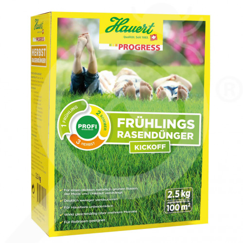 bg hauert fertilizer grass spring 2 5 kg - 0, small