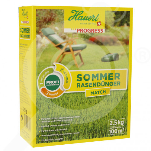 bg hauert fertilizer grass summer 2 5 kg - 0, small