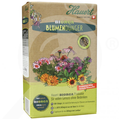 bg hauert fertilizer organic flower 800 g - 0, small