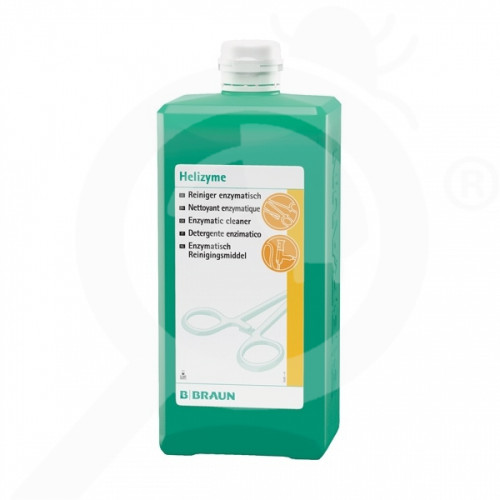 bg b braun disinfectant helizyme 1 litre - 1, small