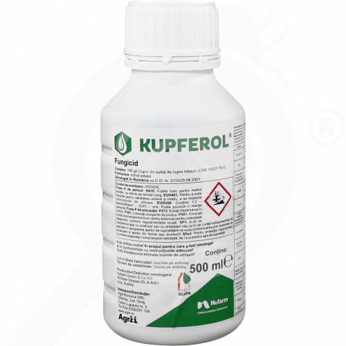 bg nufarm fungicide kupferol 500 ml - 0, small