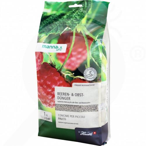 bg hauert fertilizer manna organic fruit fertilizer 1 kg - 0, small