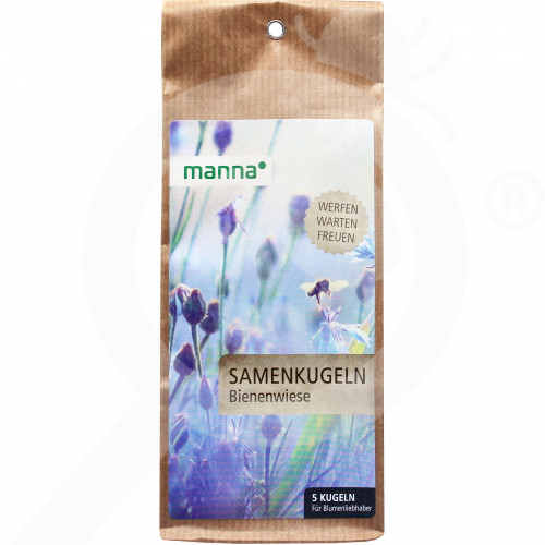 bg hauert seed bee flowers mix manna 90 g - 0, small