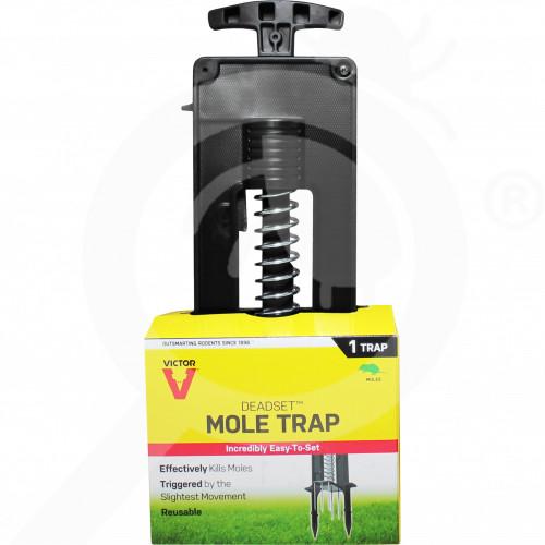 bg woodstream trap victor deadset m9015 mole trap - 1, small