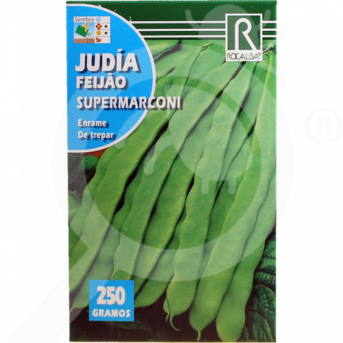 bg rocalba seed beans supermarconi 250 g - 0, small