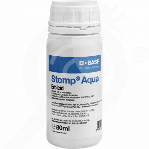 bg basf herbicide stomp aqua 80 ml - 1, small