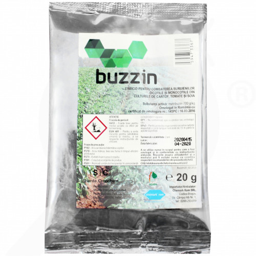 bg sharda cropchem herbicide buzzin 20 g - 0, small