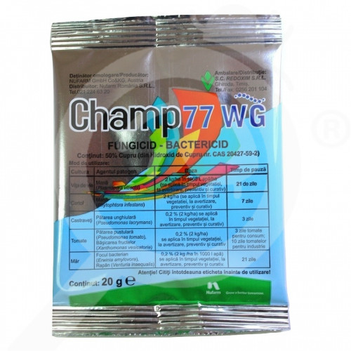 bg nufarm fungicide champ 77 wg 20 g - 1, small