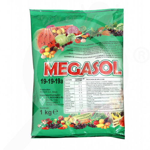 bg rosier fertilizer megasol 19 19 19 1 kg - 0, small