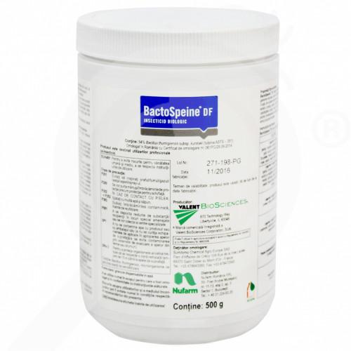 bg nufarm insecticid agro bactospeine df 500 g - 1, small