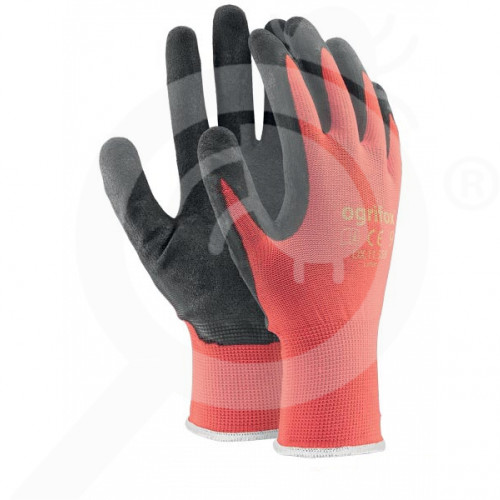 bg ogrifox safety equipment gloves ox lateks - 3, small