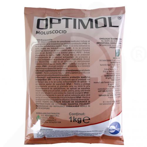 bg summit agro molluscocide optimol 1 kg - 0, small