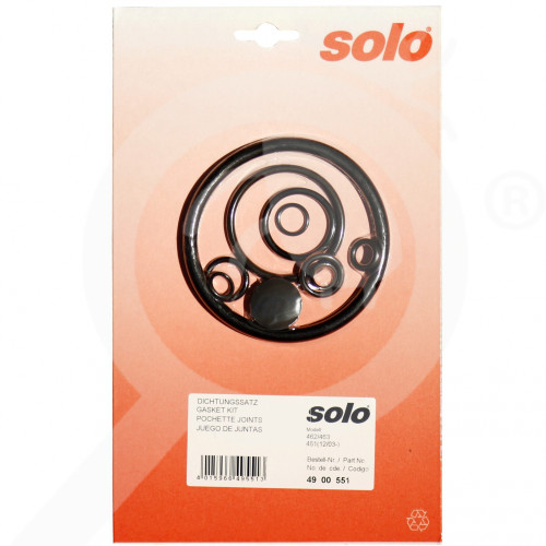 bg solo accessory sprayer 461 462 463 gasket set - 0, small