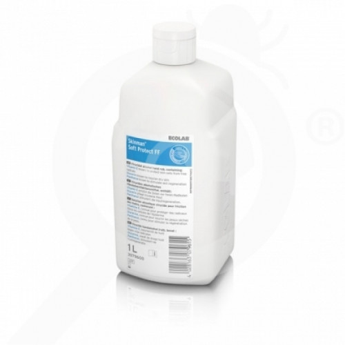 bg ecolab disinfectant skinman soft protect ff 1 l - 0, small