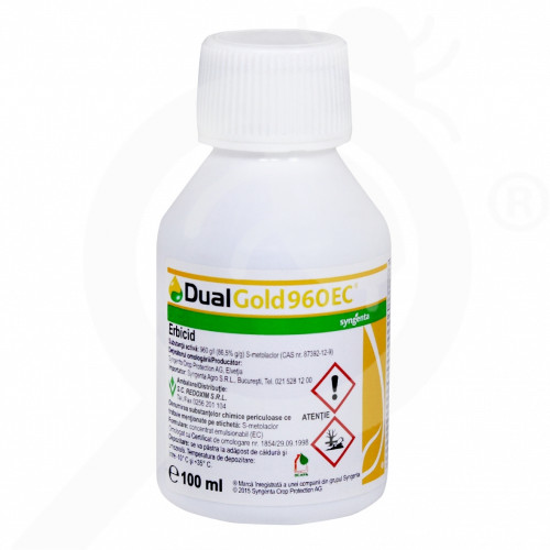syngenta erbicid dual gold 960 ec 100 ml - 1, small