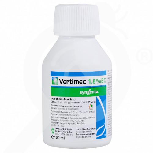 bg syngenta acaricide vertimec 1 8 ec 100 ml - 0