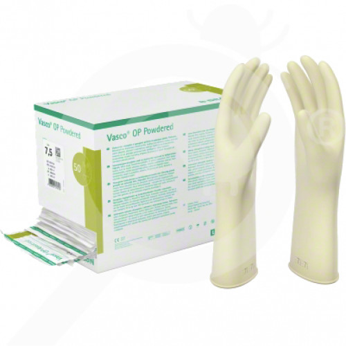 bg b braun gloves vasco op protect 6 5 set of 2 - 1, small