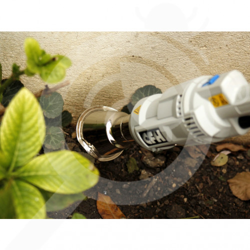 bg cfh special unit e bio gartner ebg 663 electric weed burner - 1