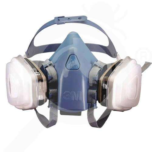 bg 3m safety equipment 7500 semi mask - 1