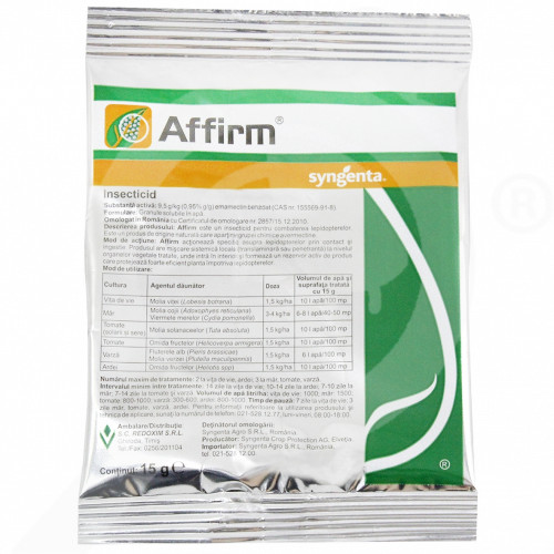 bg syngenta insecticid agro affirm 15 g - 1